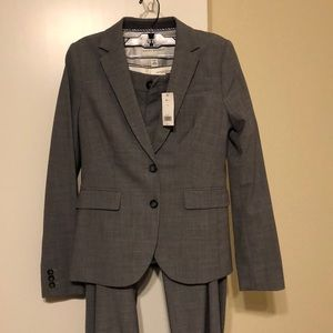 Grey Banana Republic Suit with 2 pairs of pants